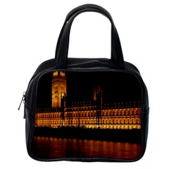 Houses Of Parliament Classic Handbags (one Side) by Nexatart