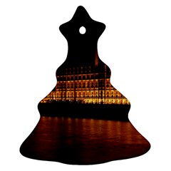 Houses Of Parliament Christmas Tree Ornament (two Sides) by Nexatart
