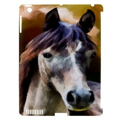 Horse Horse Portrait Animal Apple Ipad 3/4 Hardshell Case (compatible With Smart Cover)