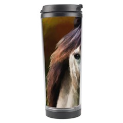 Horse Horse Portrait Animal Travel Tumbler by Nexatart