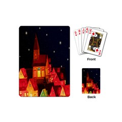 Market Christmas Light Playing Cards (mini)