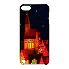 Market Christmas Light Apple Ipod Touch 5 Hardshell Case With Stand by Nexatart