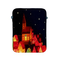 Market Christmas Light Apple Ipad 2/3/4 Protective Soft Cases by Nexatart