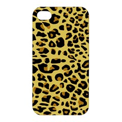 Jaguar Fur Apple Iphone 4/4s Premium Hardshell Case by Nexatart
