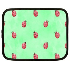 Ladybug Pattern Netbook Case (xxl)  by Nexatart