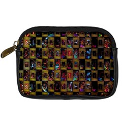 Kaleidoscope Pattern Abstract Art Digital Camera Cases
