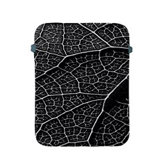 Leaf Pattern  B&w Apple Ipad 2/3/4 Protective Soft Cases