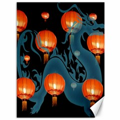Lampion Canvas 36  X 48