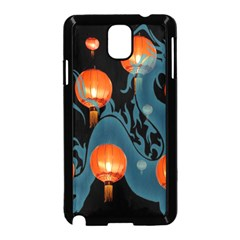 Lampion Samsung Galaxy Note 3 Neo Hardshell Case (black) by Nexatart