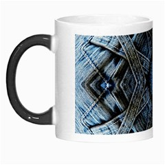 Jeans Background Morph Mugs