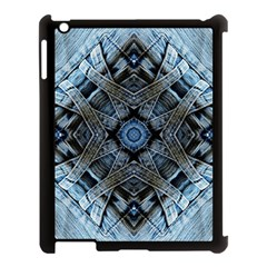 Jeans Background Apple Ipad 3/4 Case (black)