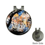 Landscape Sunset Sky Summer Hat Clips with Golf Markers Front