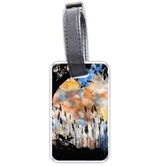 Landscape Sunset Sky Summer Luggage Tags (two Sides) by Nexatart