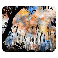 Landscape Sunset Sky Summer Double Sided Flano Blanket (small)  by Nexatart