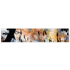 Landscape Sunset Sky Summer Flano Scarf (small) by Nexatart