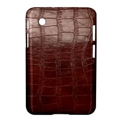 Leather Snake Skin Texture Samsung Galaxy Tab 2 (7 ) P3100 Hardshell Case  by Nexatart