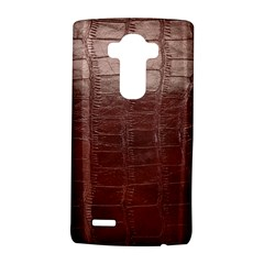 Leather Snake Skin Texture Lg G4 Hardshell Case by Nexatart