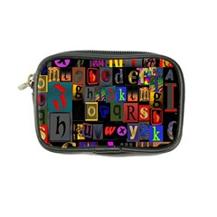 Letters A Abc Alphabet Literacy Coin Purse by Nexatart
