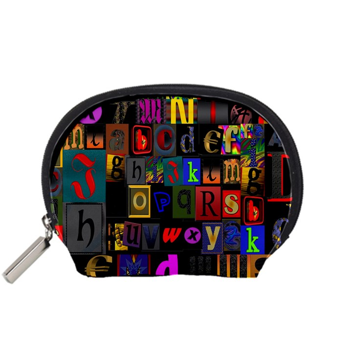 Letters A Abc Alphabet Literacy Accessory Pouches (Small)