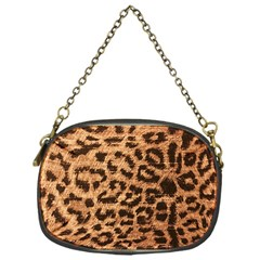 Leopard Print Animal Print Backdrop Chain Purses (one Side)