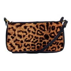 Leopard Print Animal Print Backdrop Shoulder Clutch Bags by Nexatart