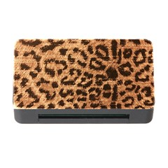 Leopard Print Animal Print Backdrop Memory Card Reader With Cf