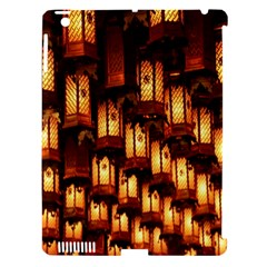 Light Art Pattern Lamp Apple Ipad 3/4 Hardshell Case (compatible With Smart Cover) by Nexatart