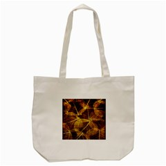 Leaves Autumn Texture Brown Tote Bag (cream) by Nexatart