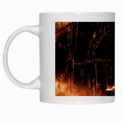 Locomotive White Mugs