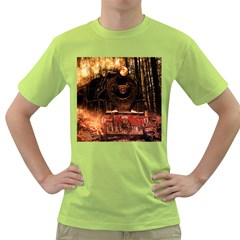 Locomotive Green T Shirt