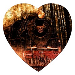 Locomotive Jigsaw Puzzle (heart)