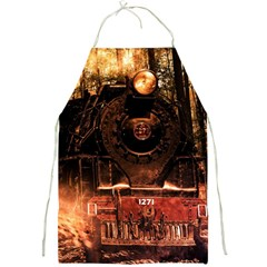 Locomotive Full Print Aprons