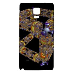 Machine Gear Mechanical Technology Galaxy Note 4 Back Case by Nexatart