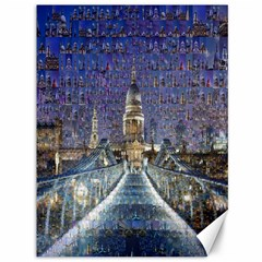 London Travel Canvas 36  X 48
