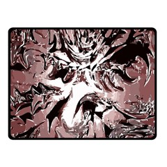 Metal Lighted Background Light Double Sided Fleece Blanket (small)  by Nexatart