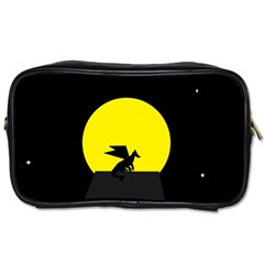 Moon And Dragon Dragon Sky Dragon Toiletries Bags 2 Side by Nexatart