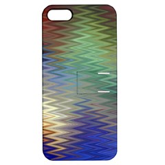 Metallizer Art Glass Apple Iphone 5 Hardshell Case With Stand by Nexatart
