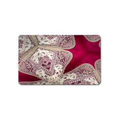 Morocco Motif Pattern Travel Magnet (name Card) by Nexatart