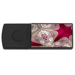 Morocco Motif Pattern Travel Usb Flash Drive Rectangular (4 Gb) by Nexatart