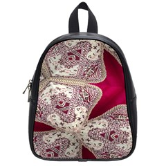 Morocco Motif Pattern Travel School Bags (small)  by Nexatart