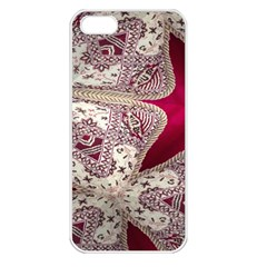 Morocco Motif Pattern Travel Apple Iphone 5 Seamless Case (white) by Nexatart