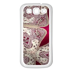 Morocco Motif Pattern Travel Samsung Galaxy S3 Back Case (white) by Nexatart