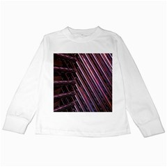 Metal Tube Chair Stack Stacked Kids Long Sleeve T Shirts