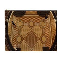 Mosaic The Elaborate Floor Pattern Of The Sydney Queen Victoria Building Cosmetic Bag (xl) by Nexatart