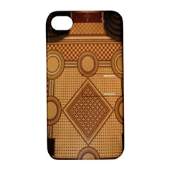 Mosaic The Elaborate Floor Pattern Of The Sydney Queen Victoria Building Apple Iphone 4/4s Hardshell Case With Stand by Nexatart