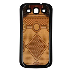 Mosaic The Elaborate Floor Pattern Of The Sydney Queen Victoria Building Samsung Galaxy S3 Back Case (black) by Nexatart