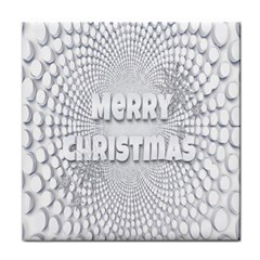 Oints Circle Christmas Merry Tile Coasters by Nexatart