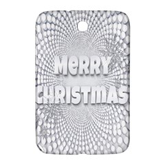 Oints Circle Christmas Merry Samsung Galaxy Note 8 0 N5100 Hardshell Case  by Nexatart