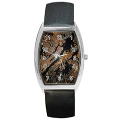 Night View Barrel Style Metal Watch