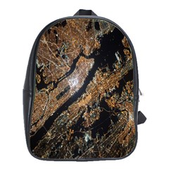 Night View School Bags(large)  by Nexatart